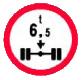 Accesul interzis vehiculelor cu masa mai mare de ?t